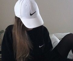 56a1efadb Image via We Heart It #black #cap #girls #grunge #nike #style ...