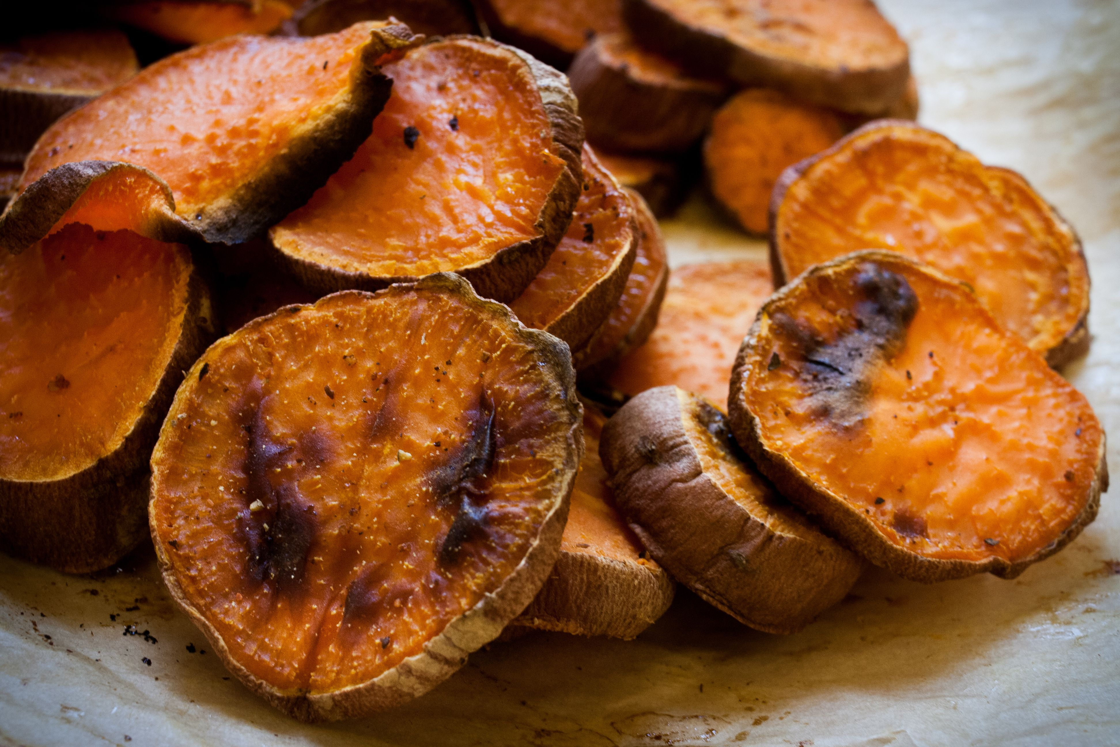 how to make yam chips in oven