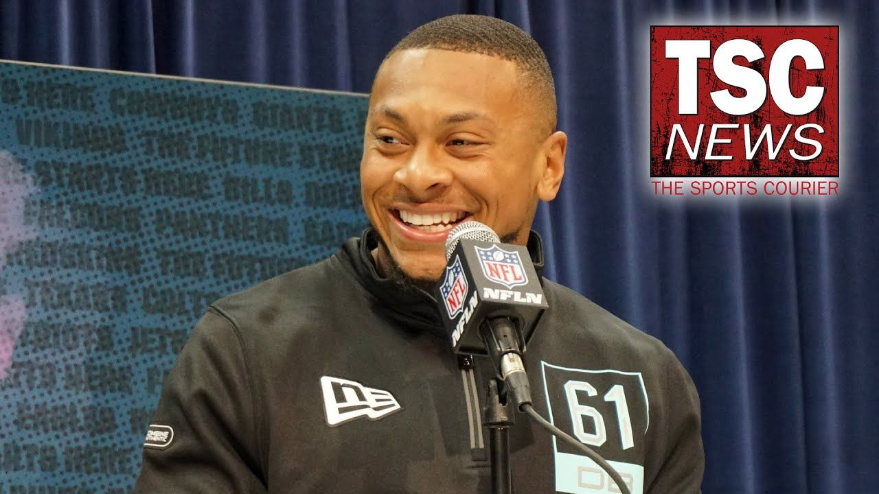 Antoine Winfield Jr. 2020 NFL Scouting Combine Press