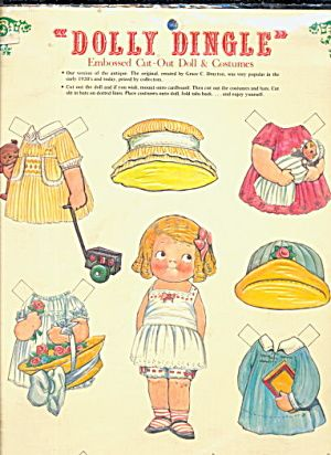 Easter? - 1981 Dolly Dingle Paper Dolls (Image1)