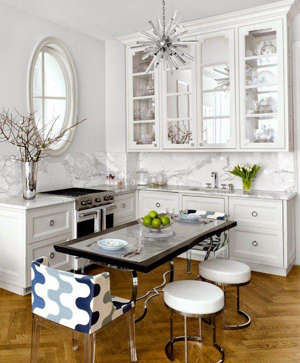 Белая кухня: 6 преимуществ + 40 вдохновляющих фото (с ...