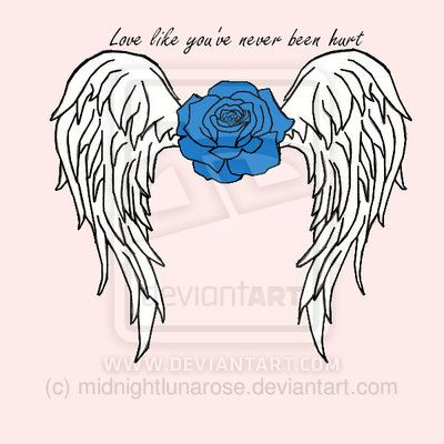 Wings With A Rose Roses And Wings Tattoo Rose With Wings Tattoo