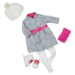 Our Generation Deluxe Outfit - Deluxe Coat u0026 Skates : Target