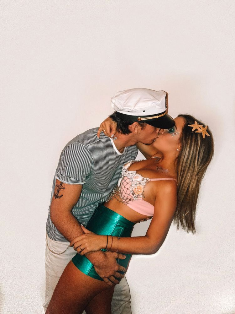14 Affordable & Cute DIY Halloween Costumes for Couples | Ecemella #couplehalloweencostumes