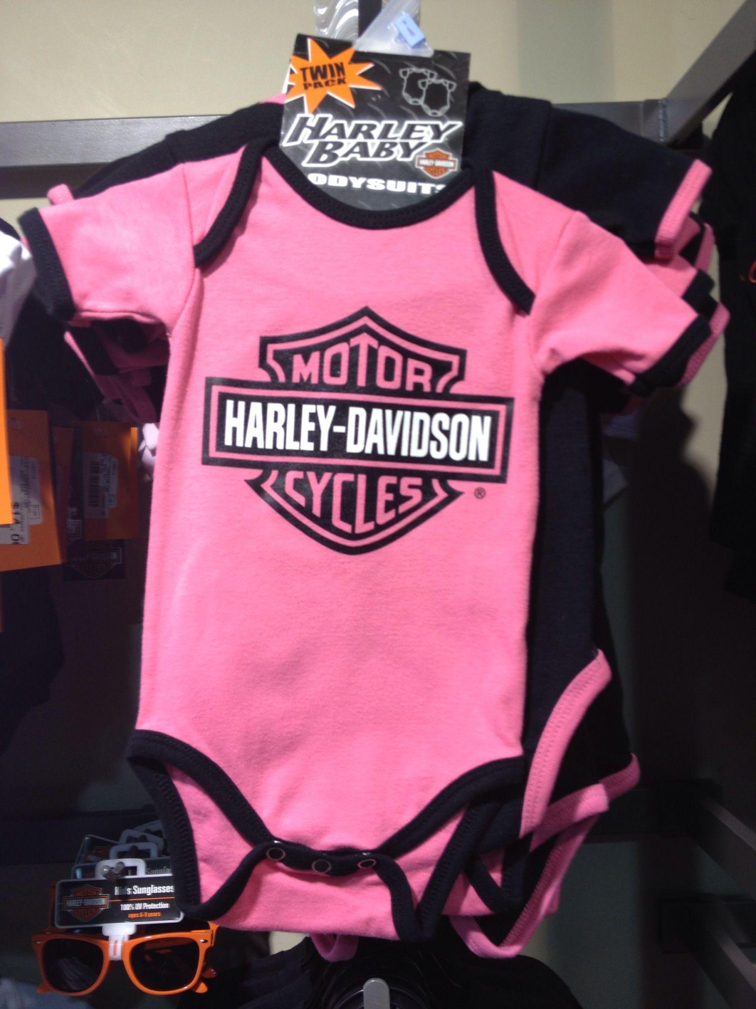 Super Cute Pink Harley Onesie Harley Davidson Kids Kids Outfits Motor Harley Davidson Cycles