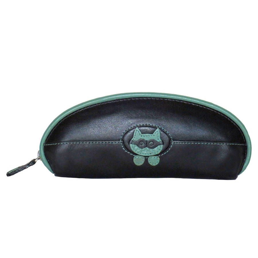 c2f2b5e614 Leather Glasses Case With Peeping Tom Cat | Cat Gifts | Leather ...