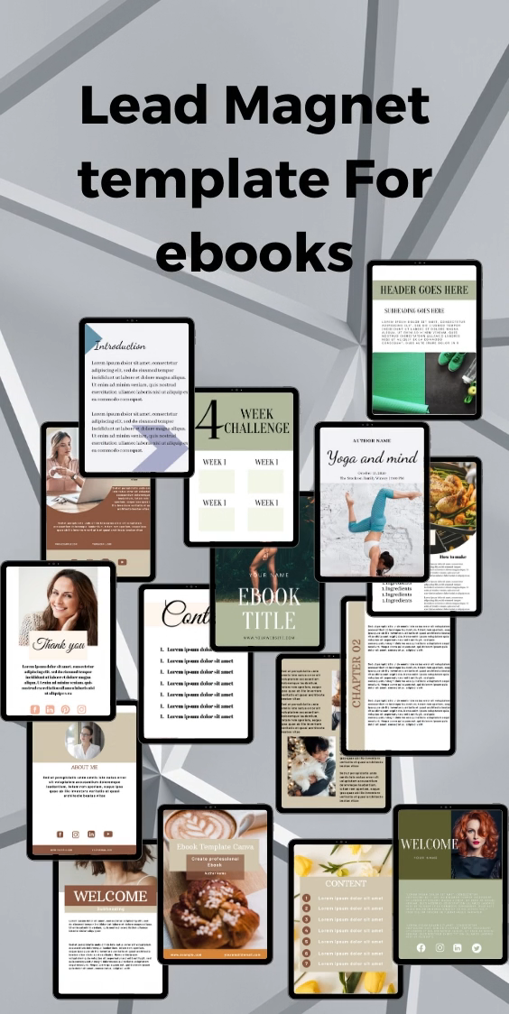 ultimate Lead magnet , professional ebook template