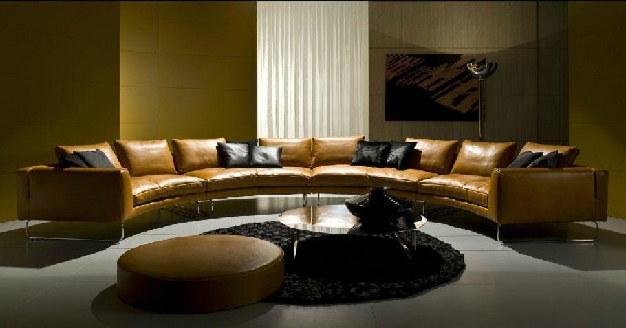 Semi Circular Sofa Add Look Round I4 Mariani Sofa Design