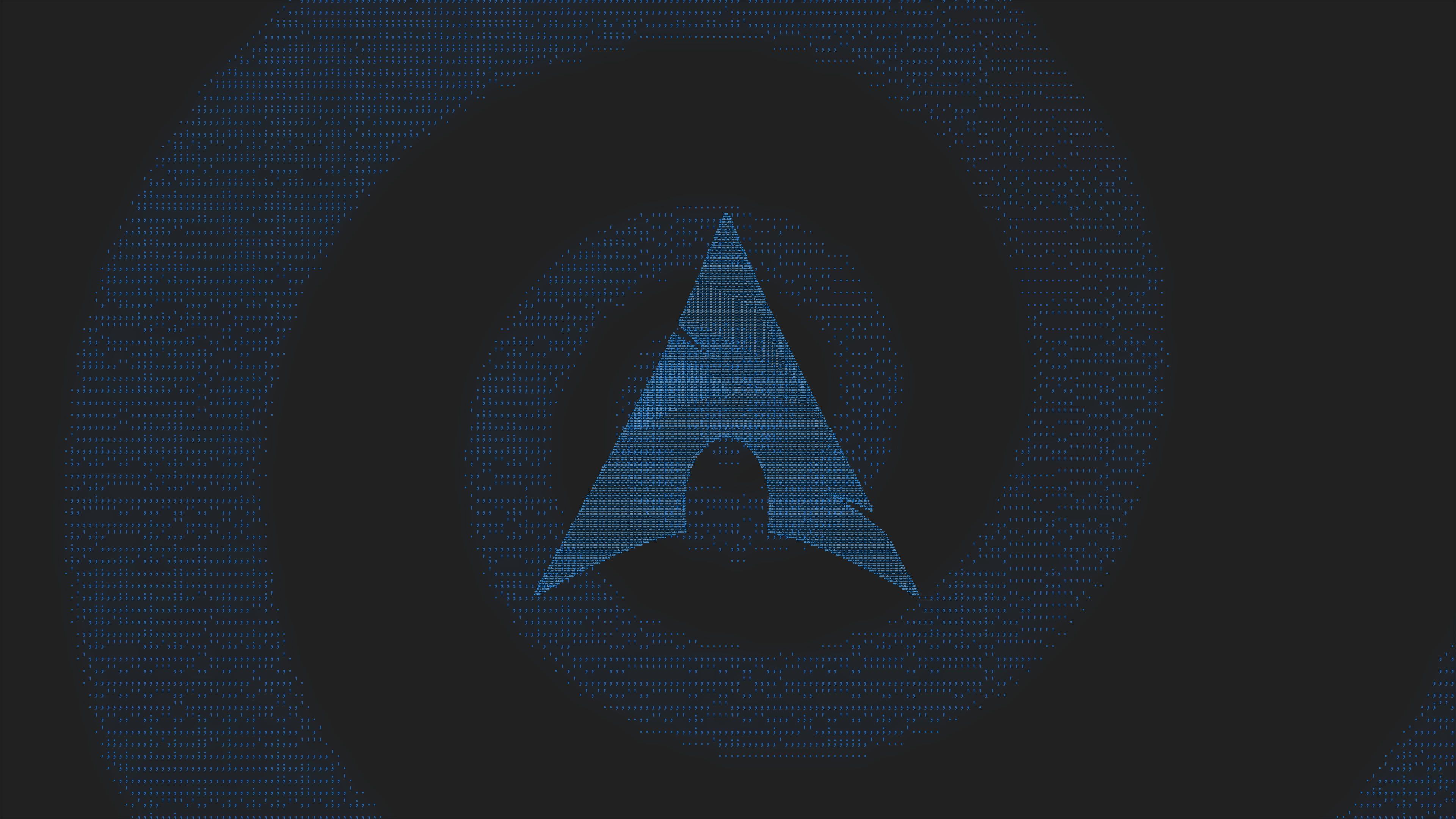 Arch Linux Material Minimal Minimalism Ascii Art Neon Glow Text Material Style Linux 4k Wallpaper Hdwallpaper D Ascii Art Arch Linux Neon Glow Wallpaper