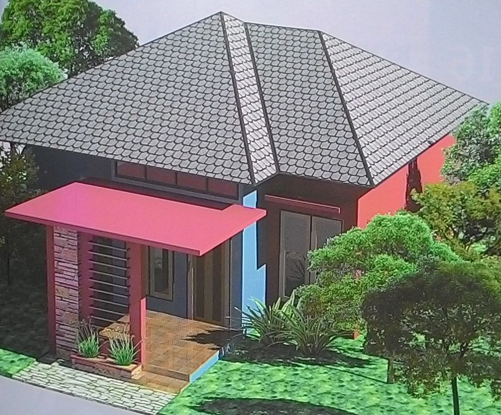 Top View For Pyramide Roof House Design House Roof Small House Exteriors House Roof Design