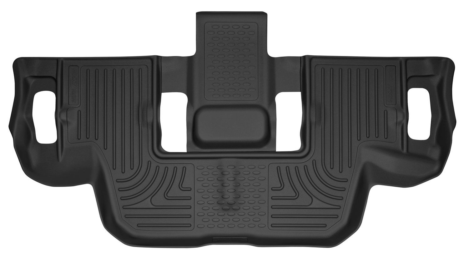 Husky Liners 53951 Black X Act Contour 3rd Seat Floor Liner Fits