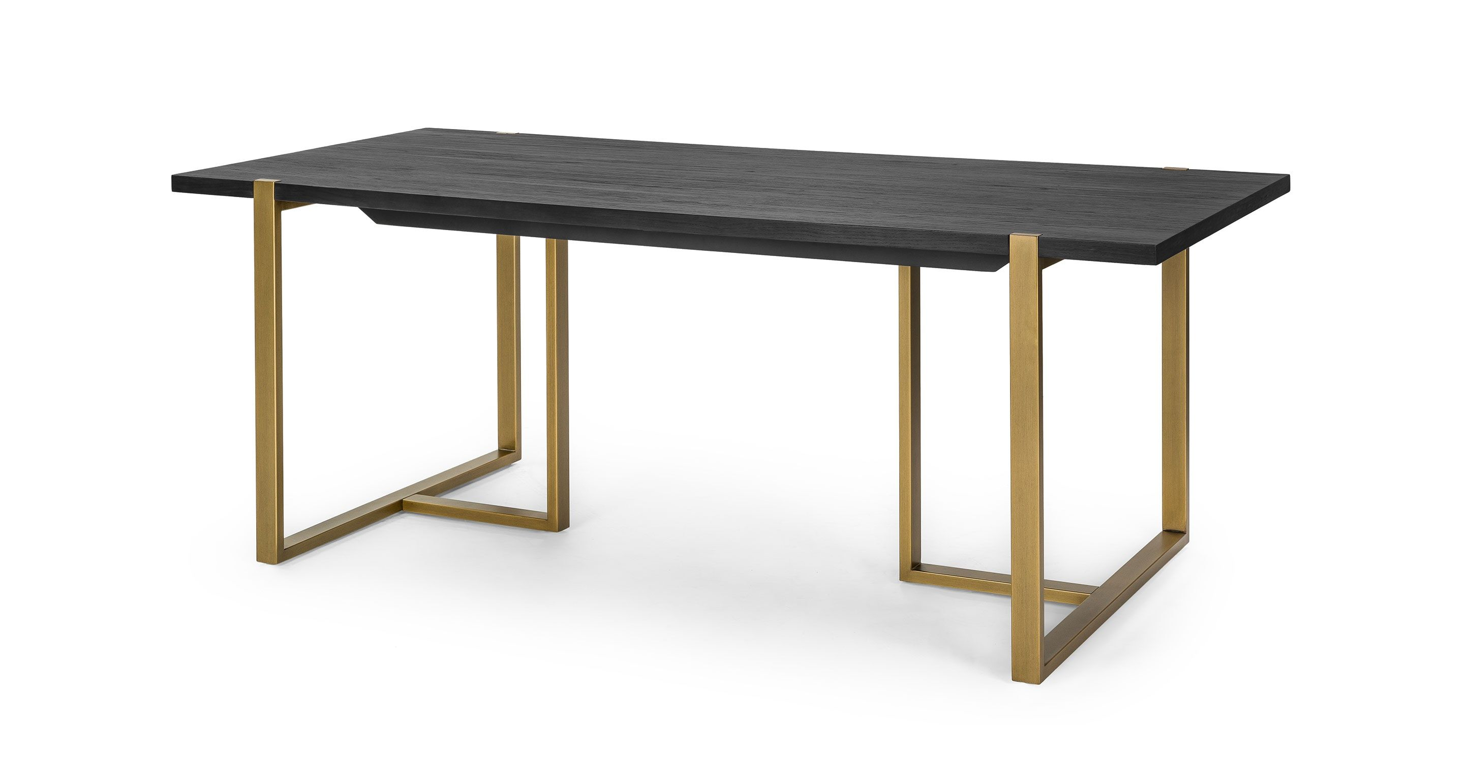 Oscuro Black 78 Dining Table Dining Tables Article Modern