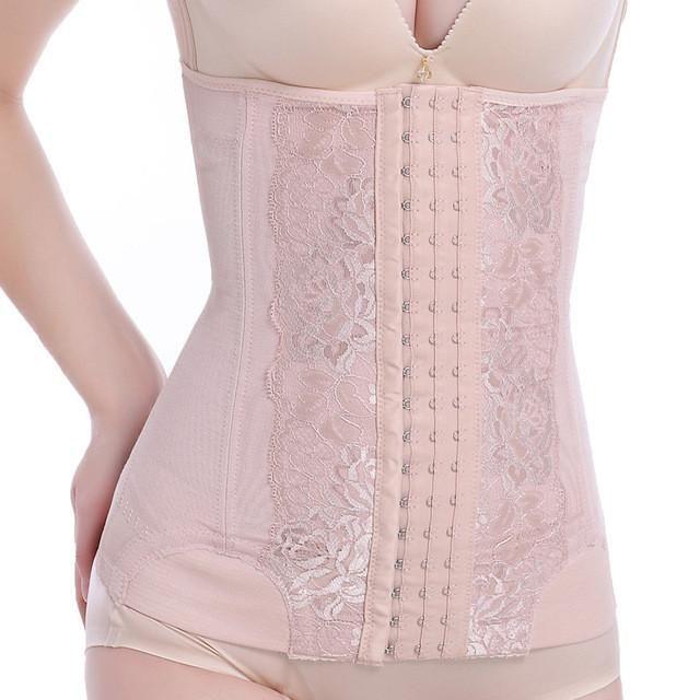 4d7bb804039 New shaper Postpartum stomach wrap corset slimming belt belly girdle  abdomen belly band waist tummy girdle cincher black beige