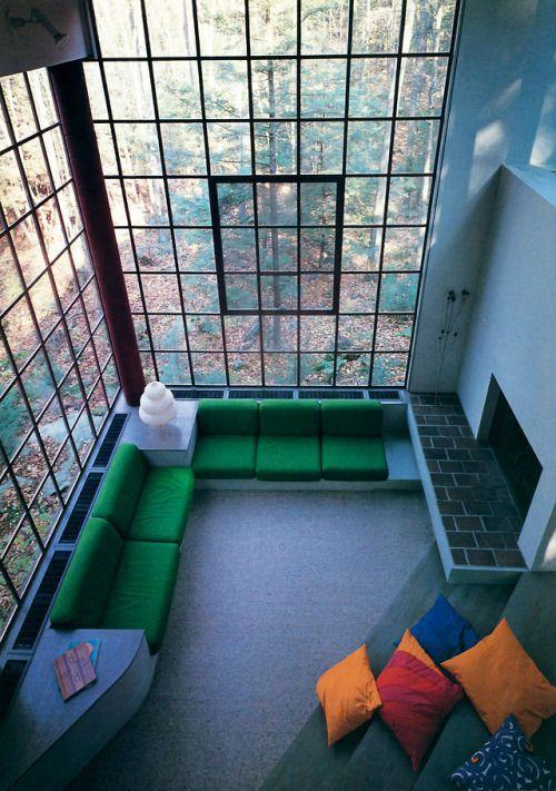 Living Room Interior Design Pdf: Bohlin, Powell, Larkin & Cywinski, Summer Residence For Mr