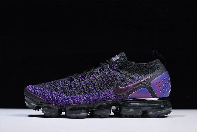 450257d3f4c96 Latest Nike Air VaporMax Flyknit 2 Black Purple 942843-013 For Sale Men And  Women Size  nike  nikes  sneakers  sneaker  sneakerhead  mensfashion  men   women ...