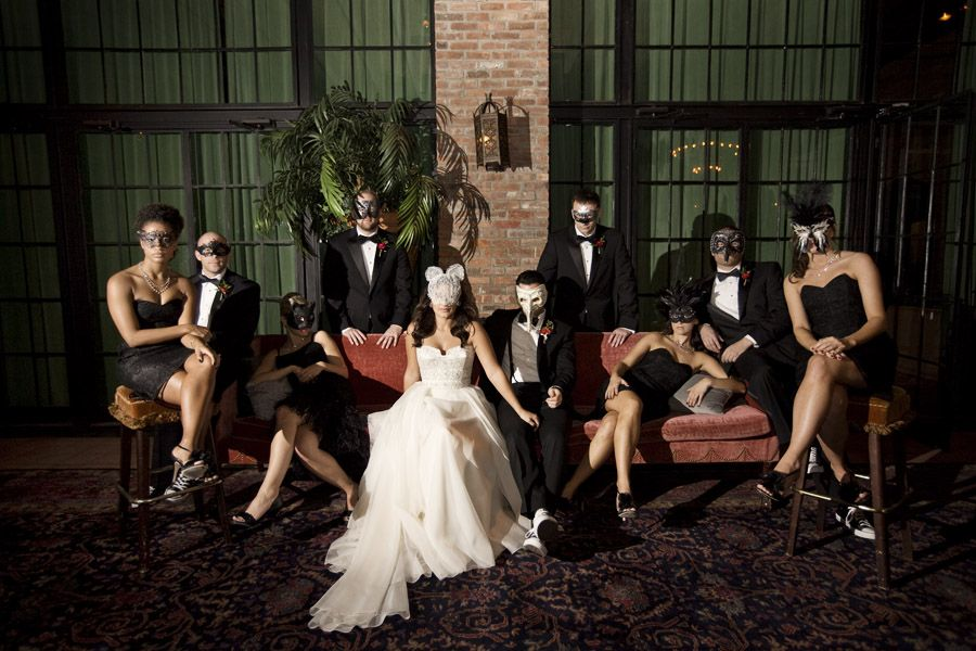 Auction 2015 Masquerade Wedding Nyc Wedding Halloween Wedding