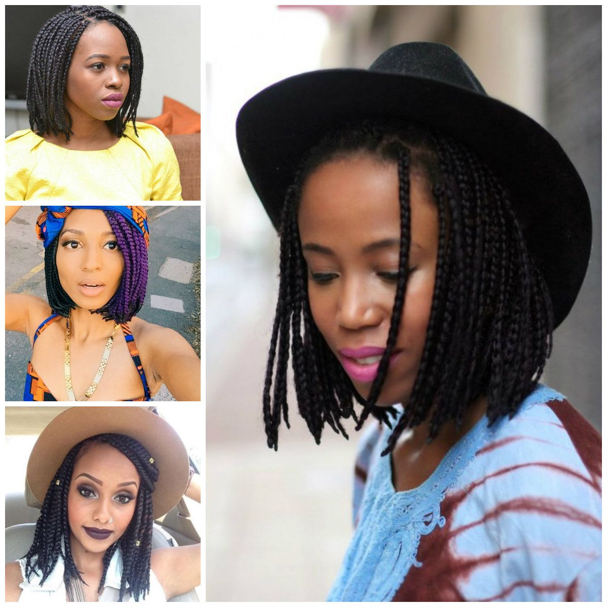 Box braid hairstyles hairstyle for wall art decor pinterest