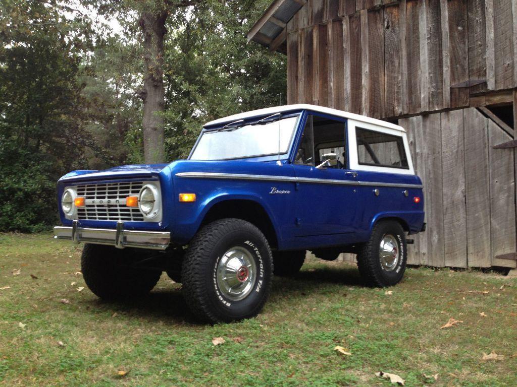Lifted Uncut Bronco Blue Barn Google Search Ford Bronco Bronco Classic Trucks