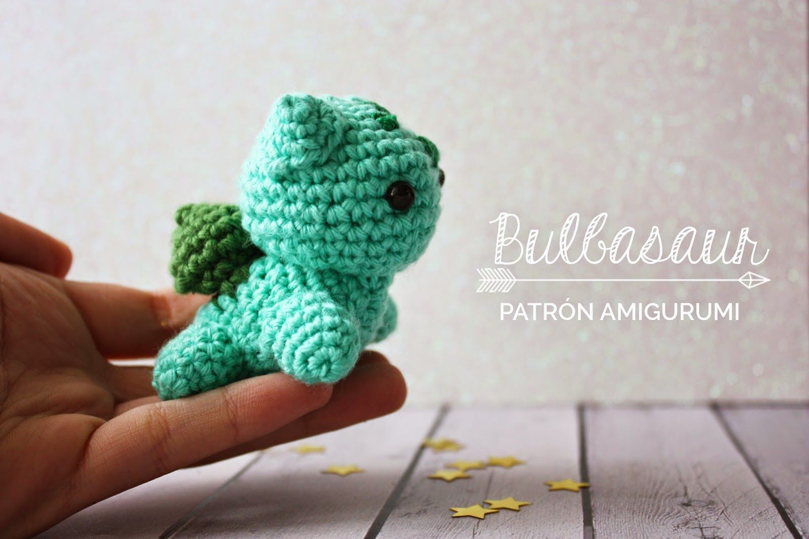 Bulbasaur - Pokemon Amigurumi - Patrón Gratis en Español - Versión ...