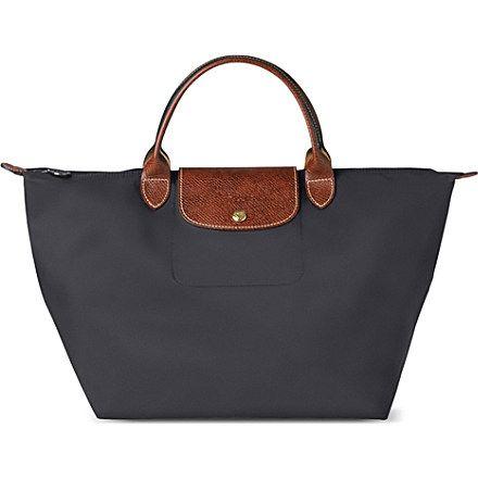 5091636b462 LONGCHAMP Le Pliage medium handbag in fusil | bags | Longchamp, Bags ...