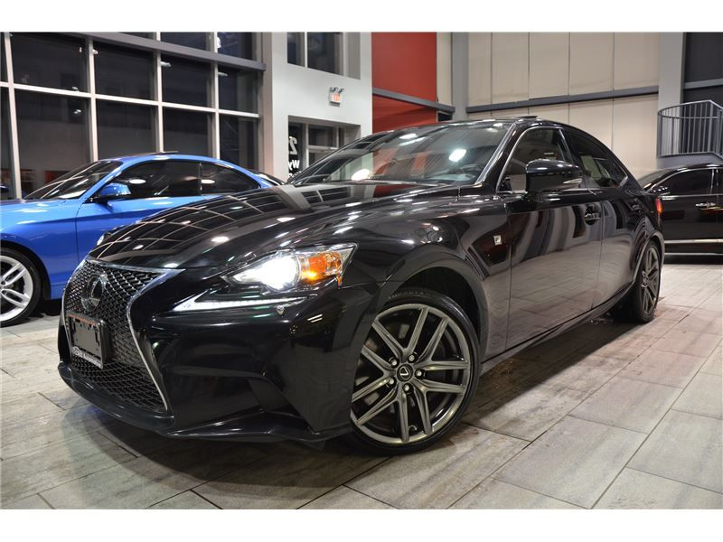 2014 Lexus IS 350 FSport Series 3 With Only 51.756 km