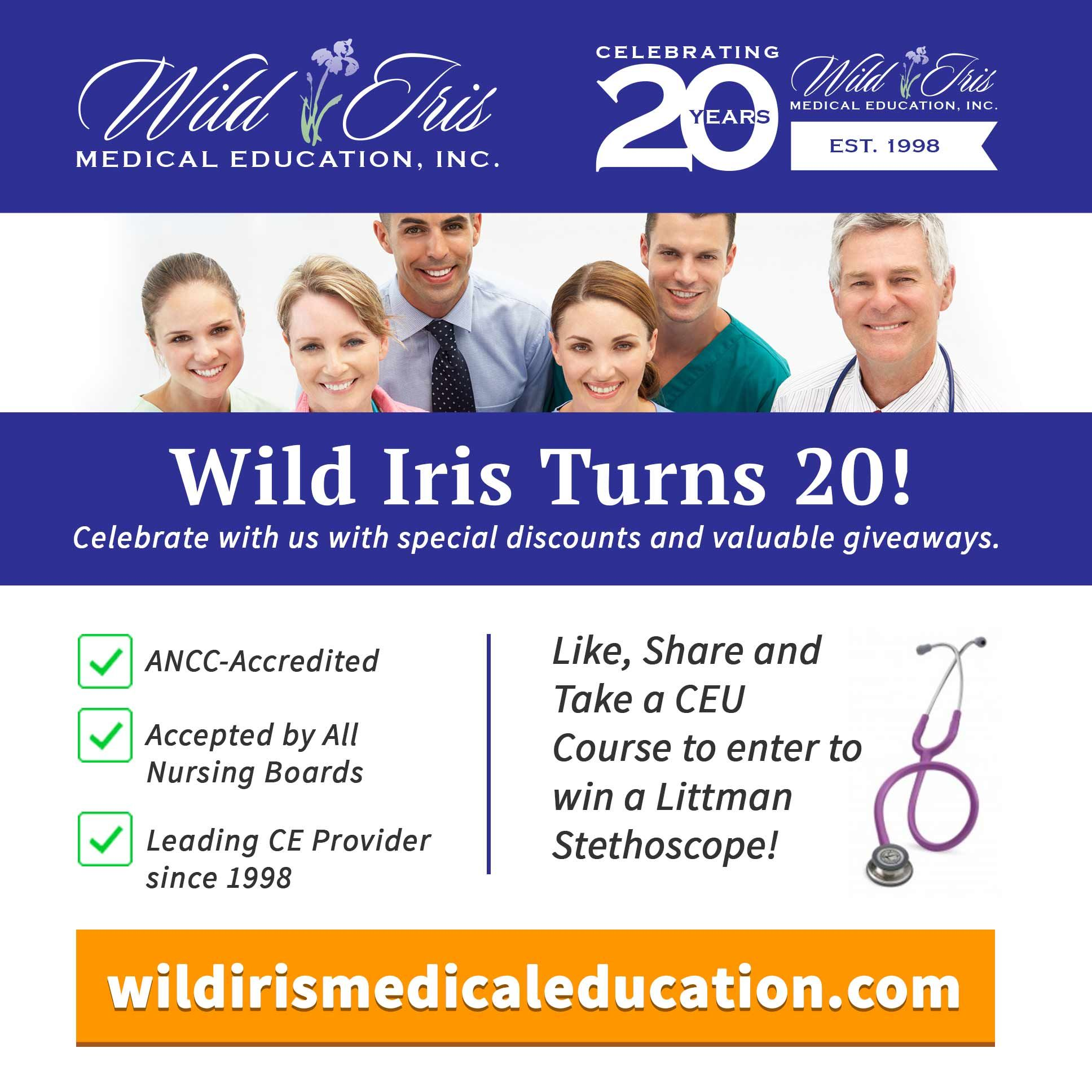 Celebrate Our 20th Year In Business With Us! During June
