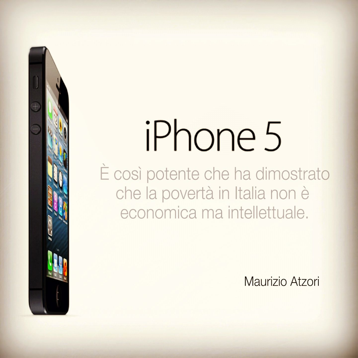 iPhone 5... By Maurizio Atzori