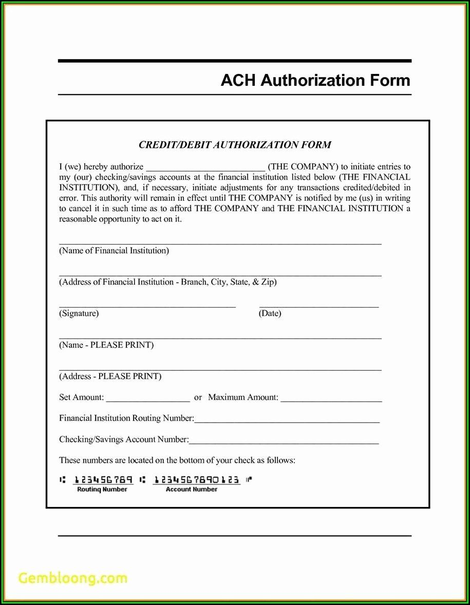 40 Generic Direct Deposit form Templates free download