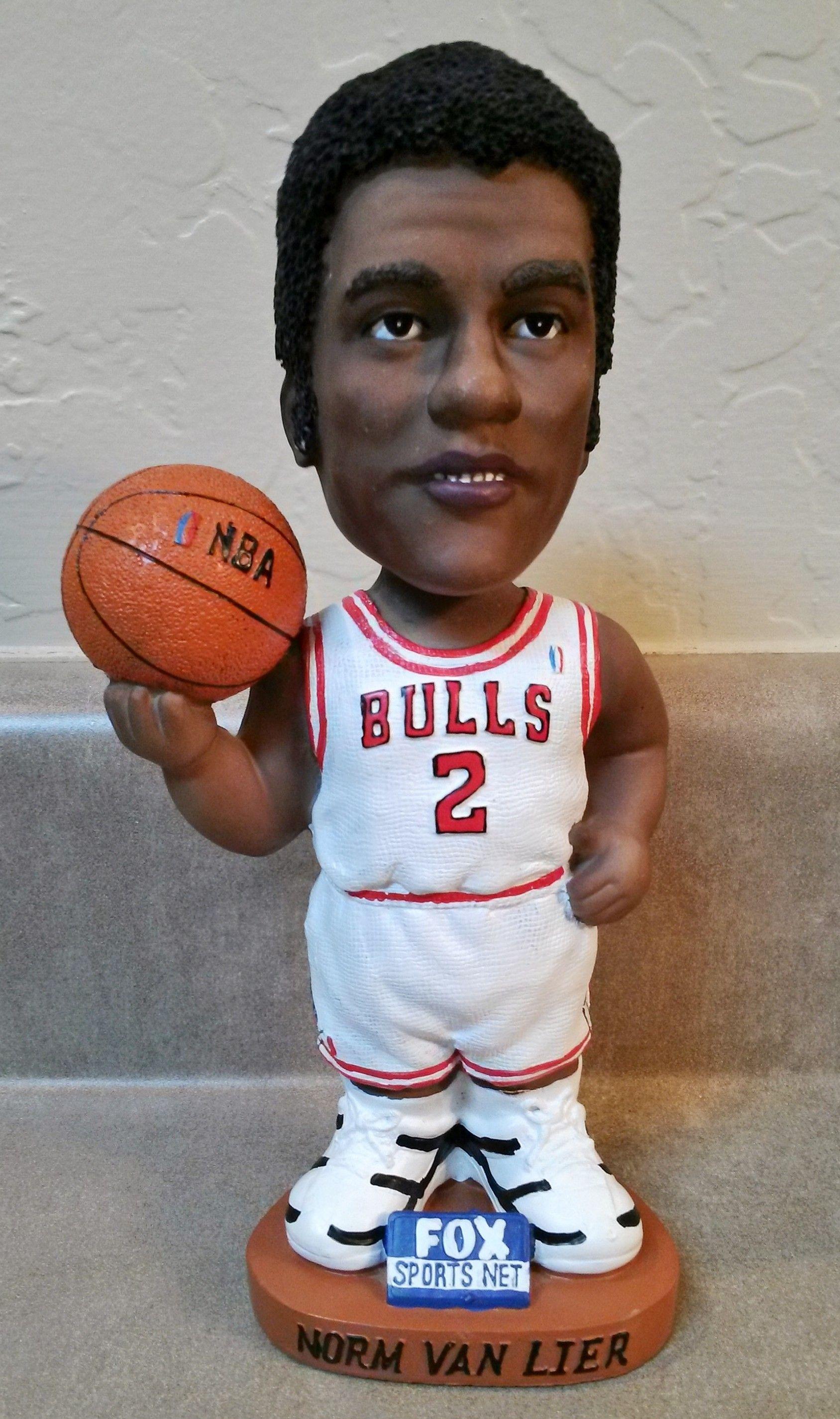 Chicago Bulls Norm Van Lier bobblehead