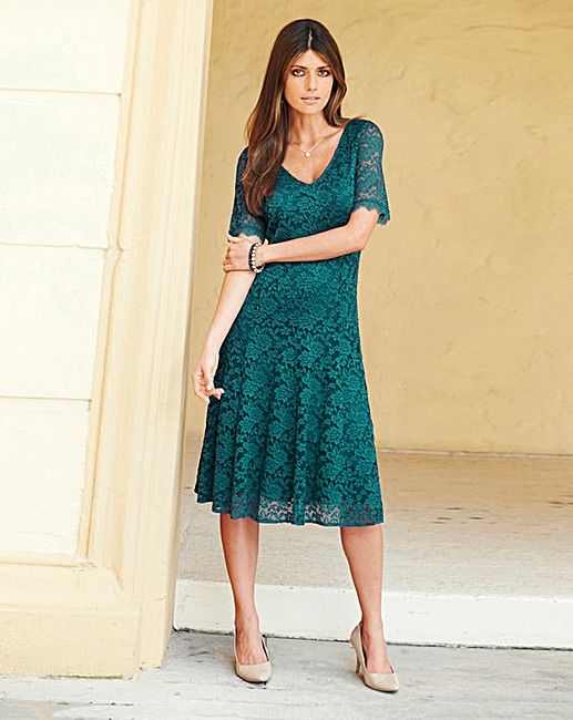 892ec52e8e JOANNA HOPE Lace Dress | J D Williams | DKW Website Shoot | Dresses ...