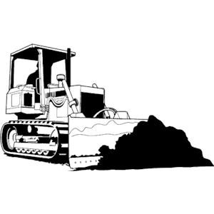 bulldozer free clipart black and white bulldozer vector art download bulldozer vectors. Black Bedroom Furniture Sets. Home Design Ideas