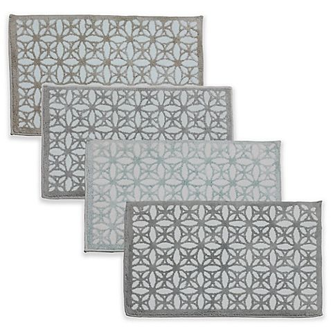 Tiffany Fl Jacquard 21 Inch X 34 Bath Rug Bed