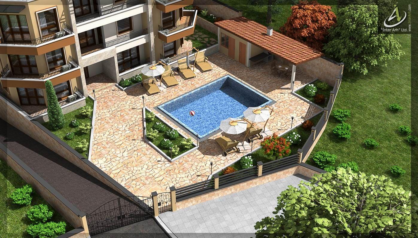 "Apartment Complex in ""Saint Nicola"" Varna. Design by www.interarh.com"