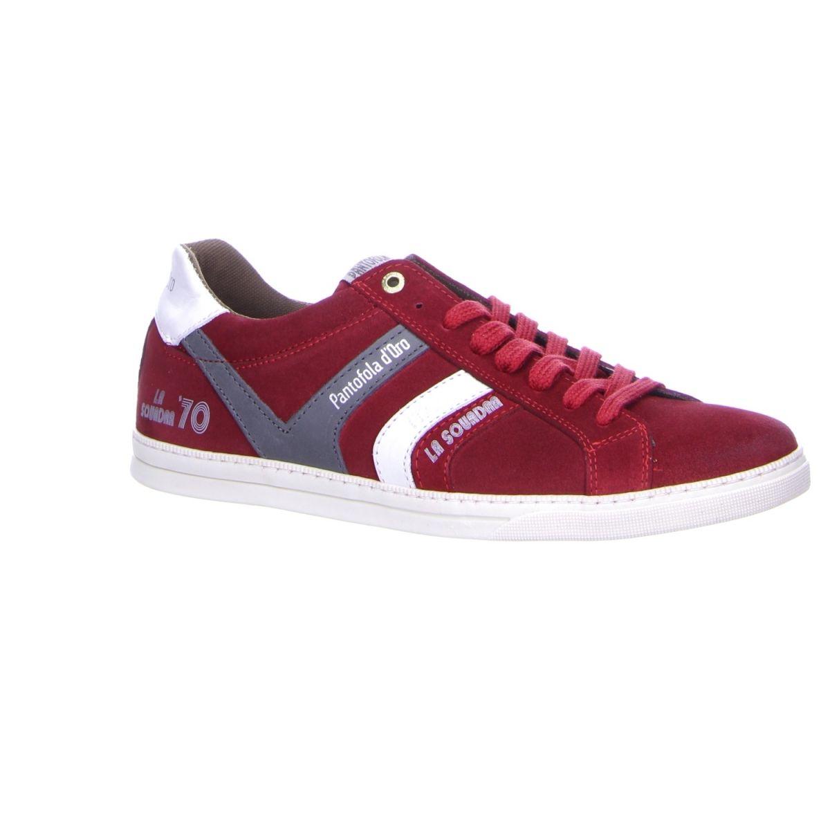 Trendiger #Sneaker von Pantofola d`Oro in rassigem Rot