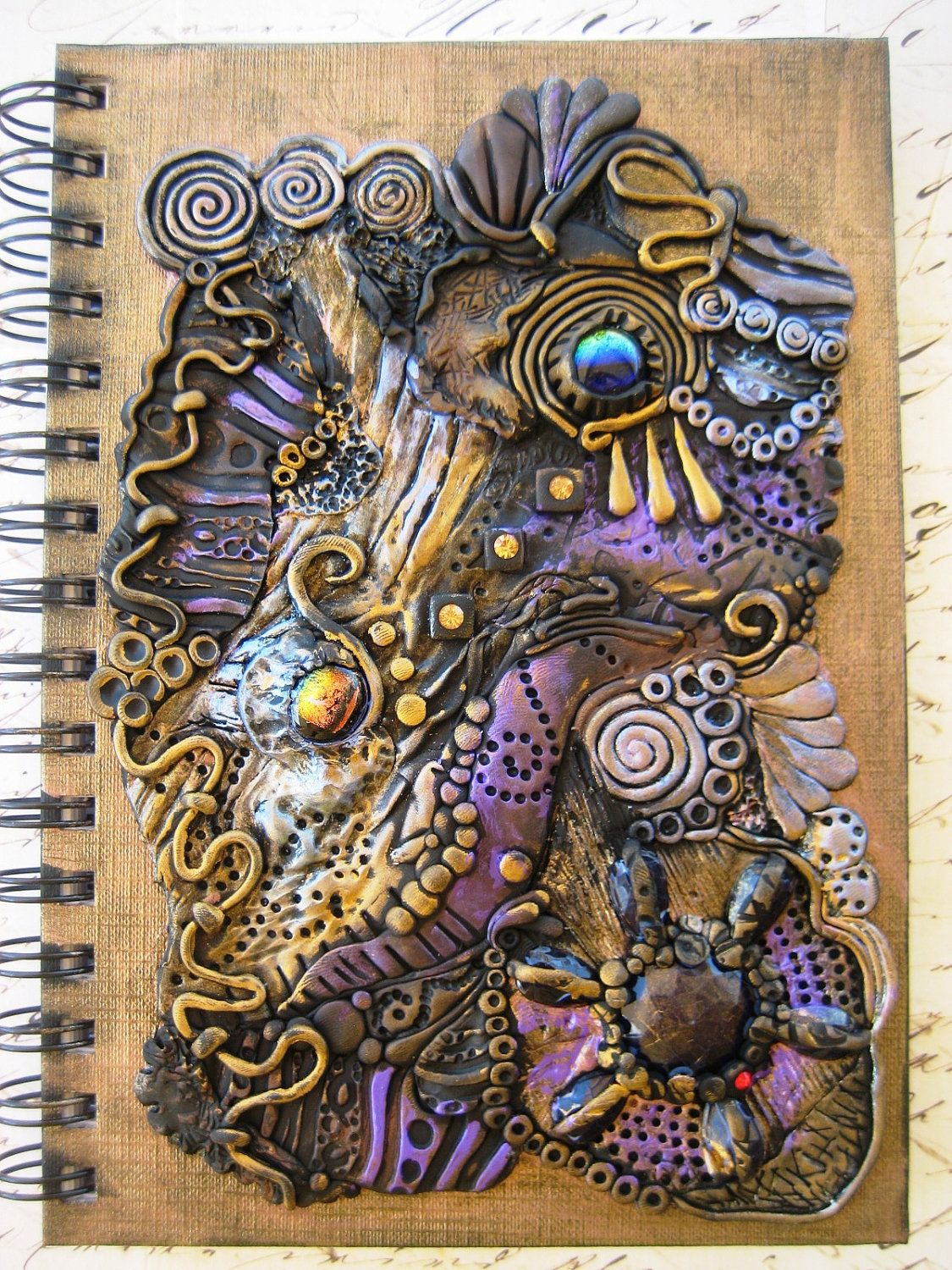 Reserved Ancient Treasures Journal Spiral Notebook