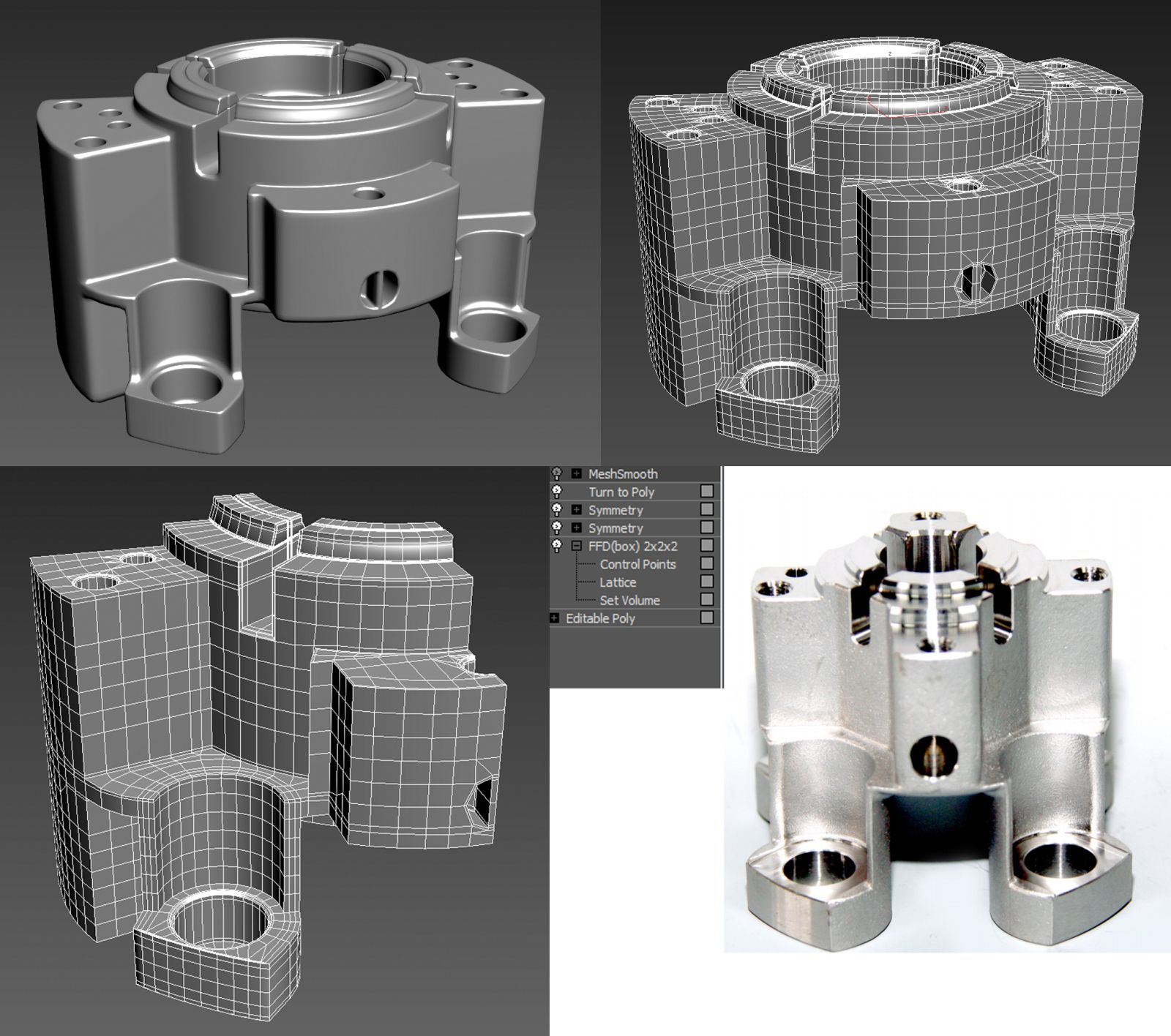 Faq How U Model Dem Shapes Hands On Mini Tuts For Mechanical Sub D Aka Add More Geo Page 168 Polycoun Hard Surface Modeling 3d Modeling Tutorial 3d Model