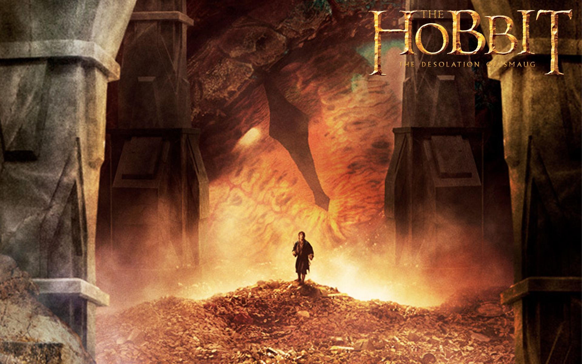 the hobbit the desolation of smaug hd wallpapers 3d