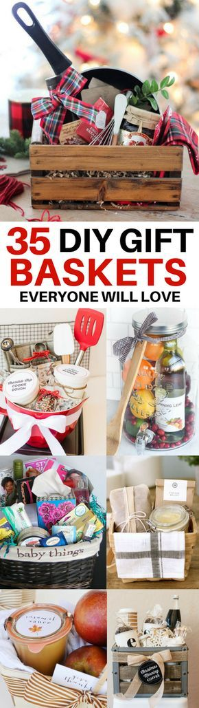35 Best Diy Gift Baskets Perfect For Any Occasion Homemade Gift