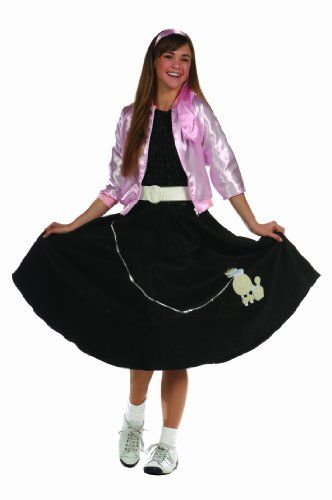 RG Costumes Women's Poodle Skirt, Black, One Size RG Costumes http://www.amazon.com/dp/B00475ODQ6/ref=cm_sw_r_pi_dp_Bvvsvb12W7ZD7