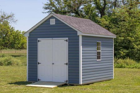 10x12 Vinyl Cottage Storage Shed Byler Barns Vinyl Sheds Cottage Storage Shed