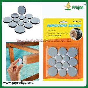 Furniture Teflon Glides Floor Protector S3Y328T Sticking It Under The Legs  Of Heavy Furniture Or Other