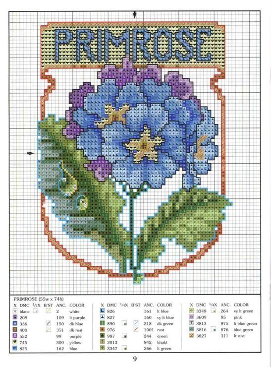 Gallery.ru / Фото #46 - разные цветочные схемы - irisha-ira