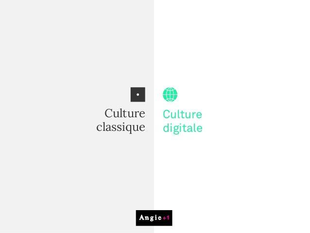 La culture digitale en images - une presentation simple et efficace par l'agence Angie