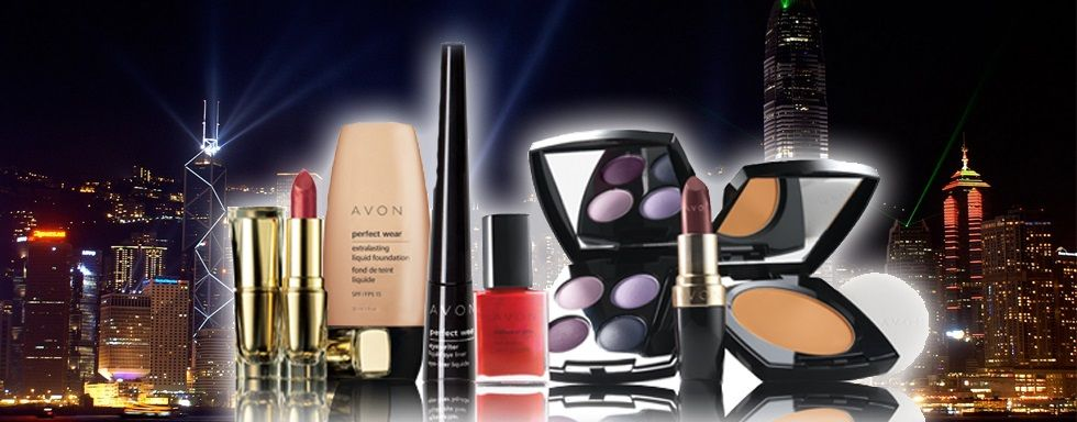 Night on the town with Avon. Beautiful colors!