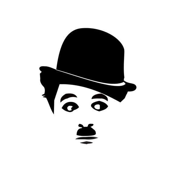 Remera Chaplin Rostro рисуночки Stencils Drawings Stencil Art