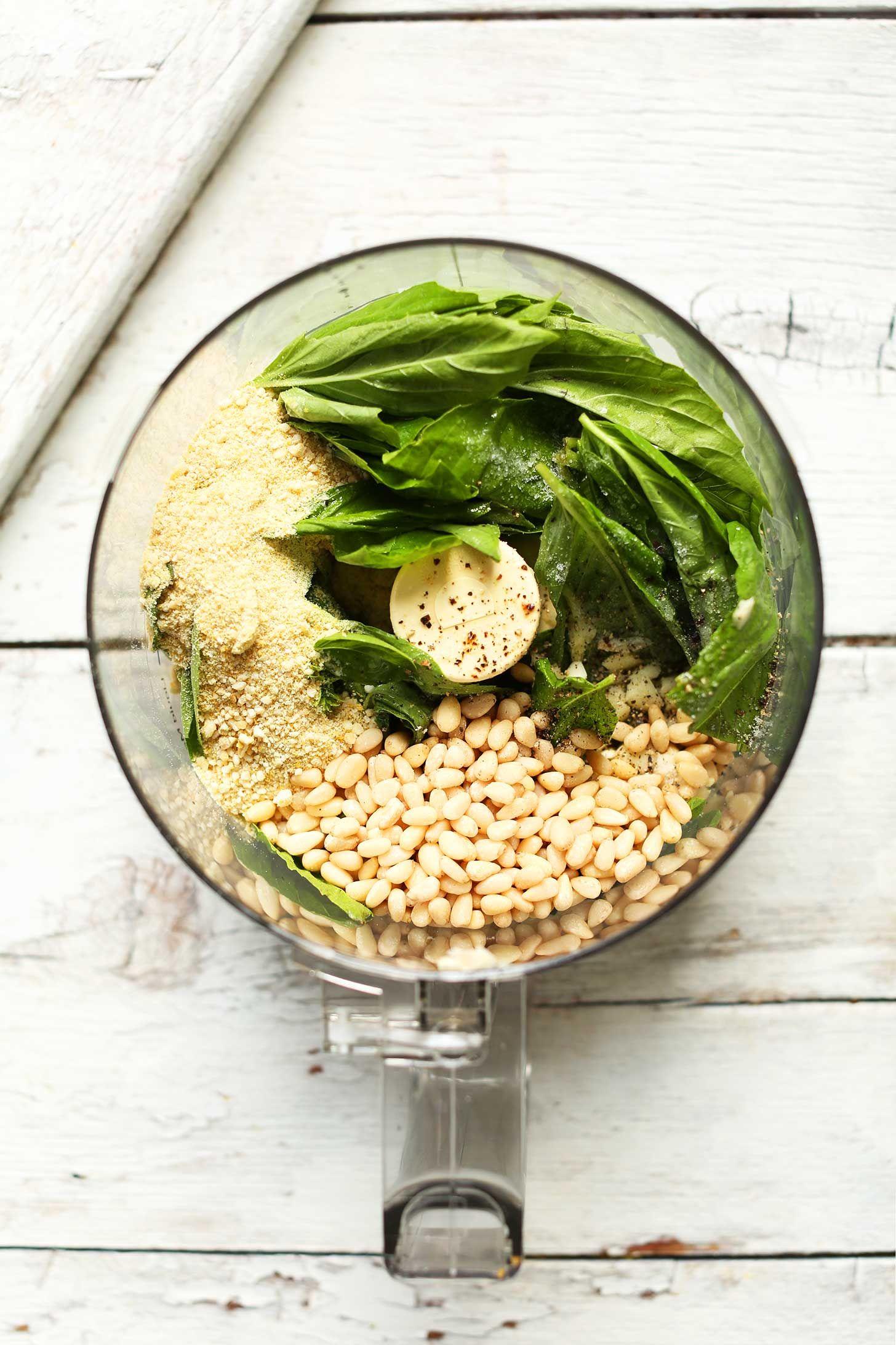 30 Minute Pesto Penne Pasta Salad #pesto #pasta #penne #salad #easy #vegan #glutenfree #pasta #recipe