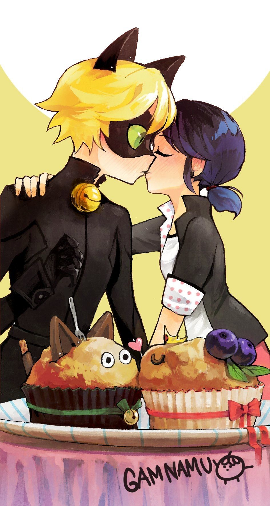 marichat is my favorite part of the love square