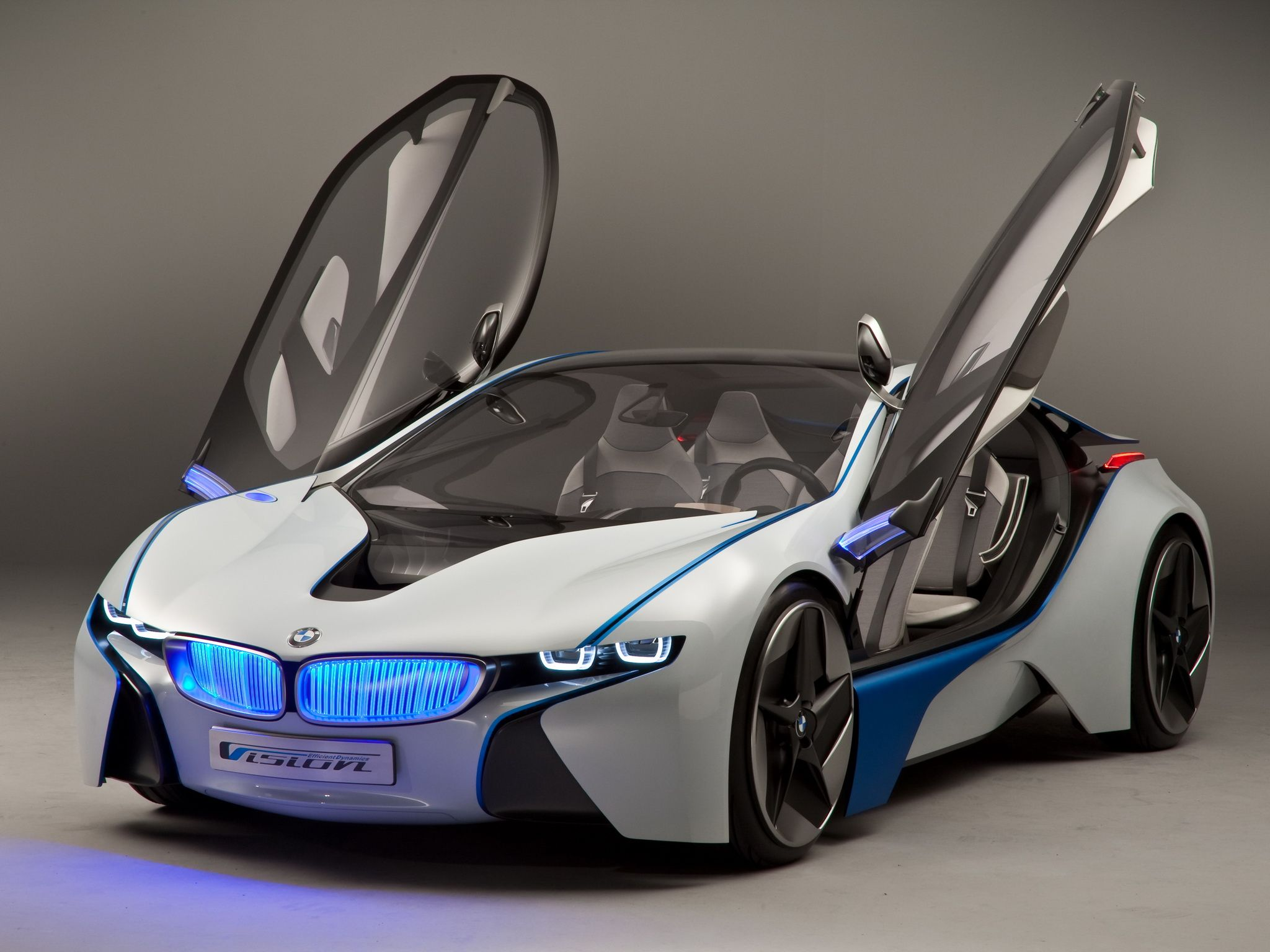 Bmw Vision Love The Blue Light Up Grill Sports Car Wallpaper Super Sport Cars Bmw