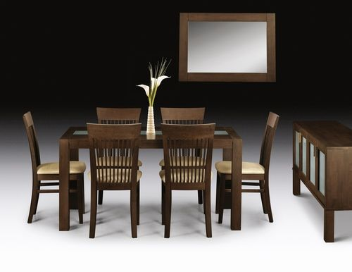 Dining Chair, wenge dining set, dark wood dining set, dark