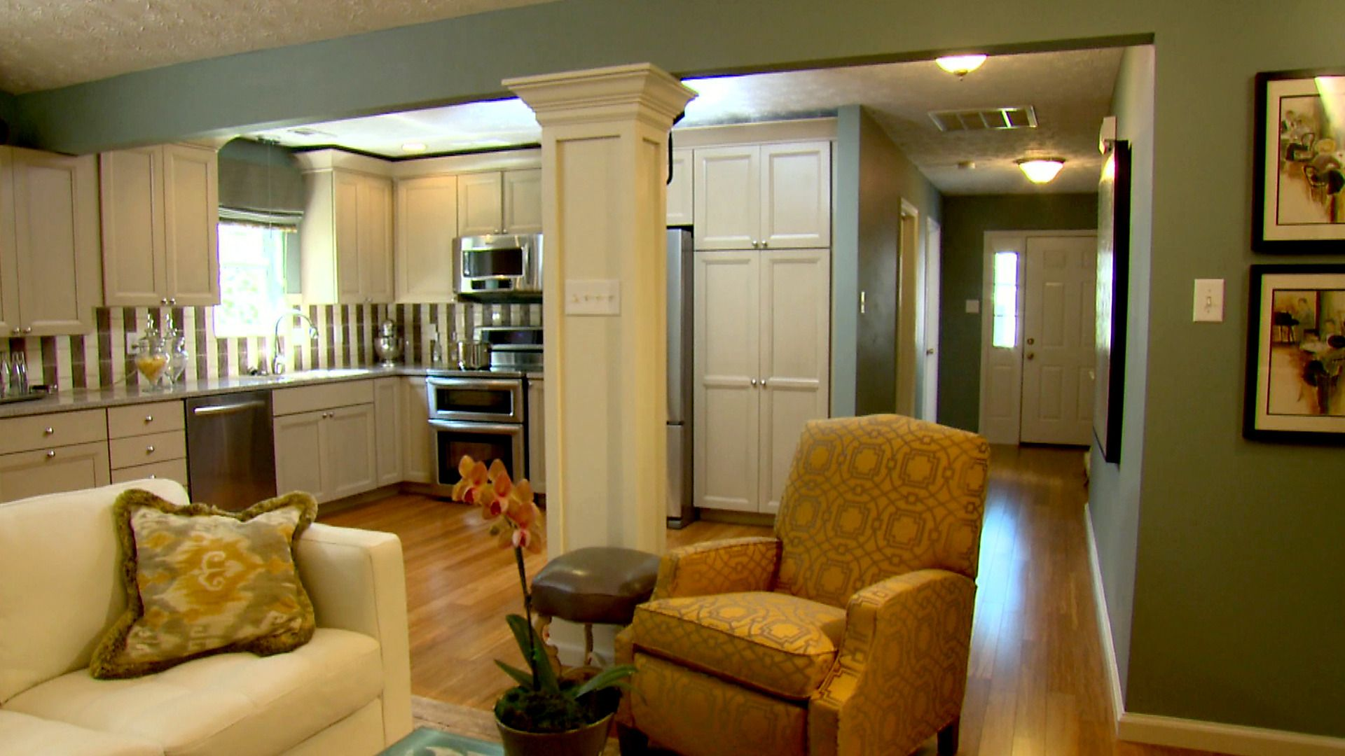 Image result for pictures of open kitchen floor plans ...